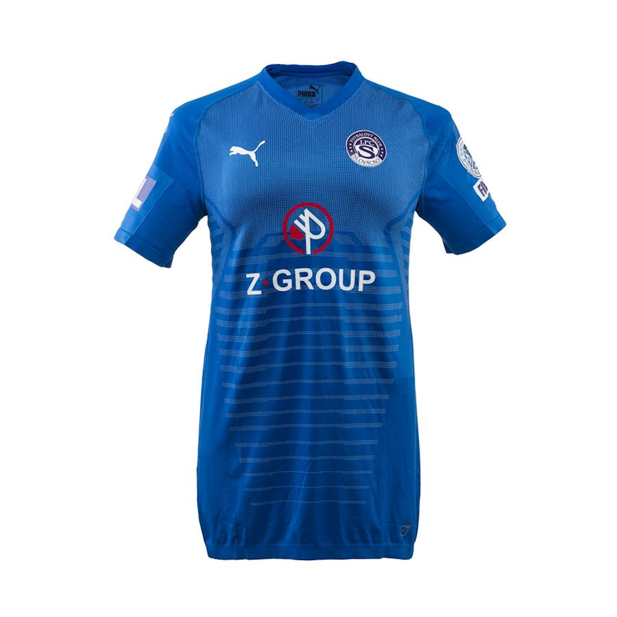 1. FC Slovácko Away 2019/2020 Football Shirt Manufactured By Puma. The Club Plays Football In Czechia.