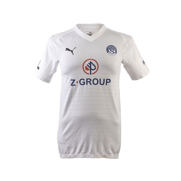 1. FC Slovácko Home 2019/2020 Football Shirt Manufactured By Puma. The Club Plays Football In Czechia.