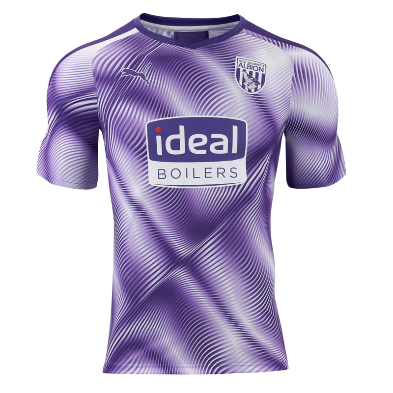 West Brom Third 2019/2020 Shirt.