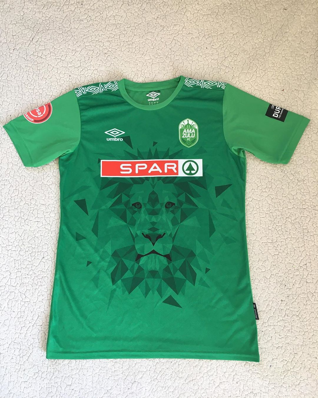 AmaZulu F.C. Home 2019/2020 Football Shirt Manufactured By Umbro. The club plays football in South Africa.