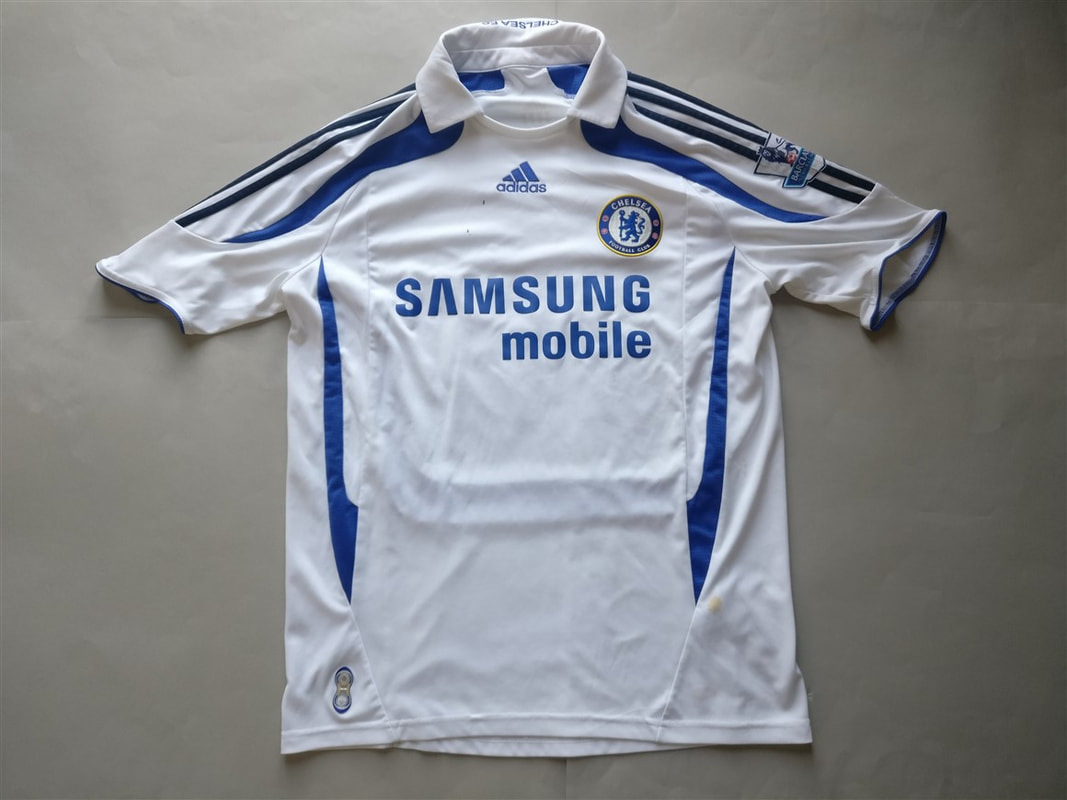 Chelsea F.C. Third 2007/2008 Shirt. Club Football Shirts.