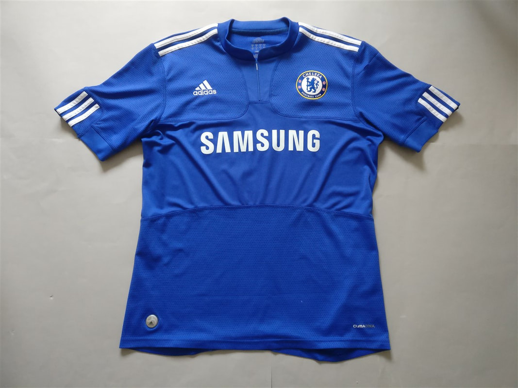 Chelsea F.C. Home 2009/2010 Shirt. Club Football Shirts.