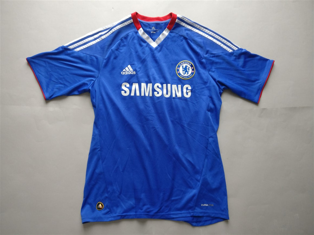 Chelsea F.C. Home 2010/2011 Shirt. Club Football Shirts.