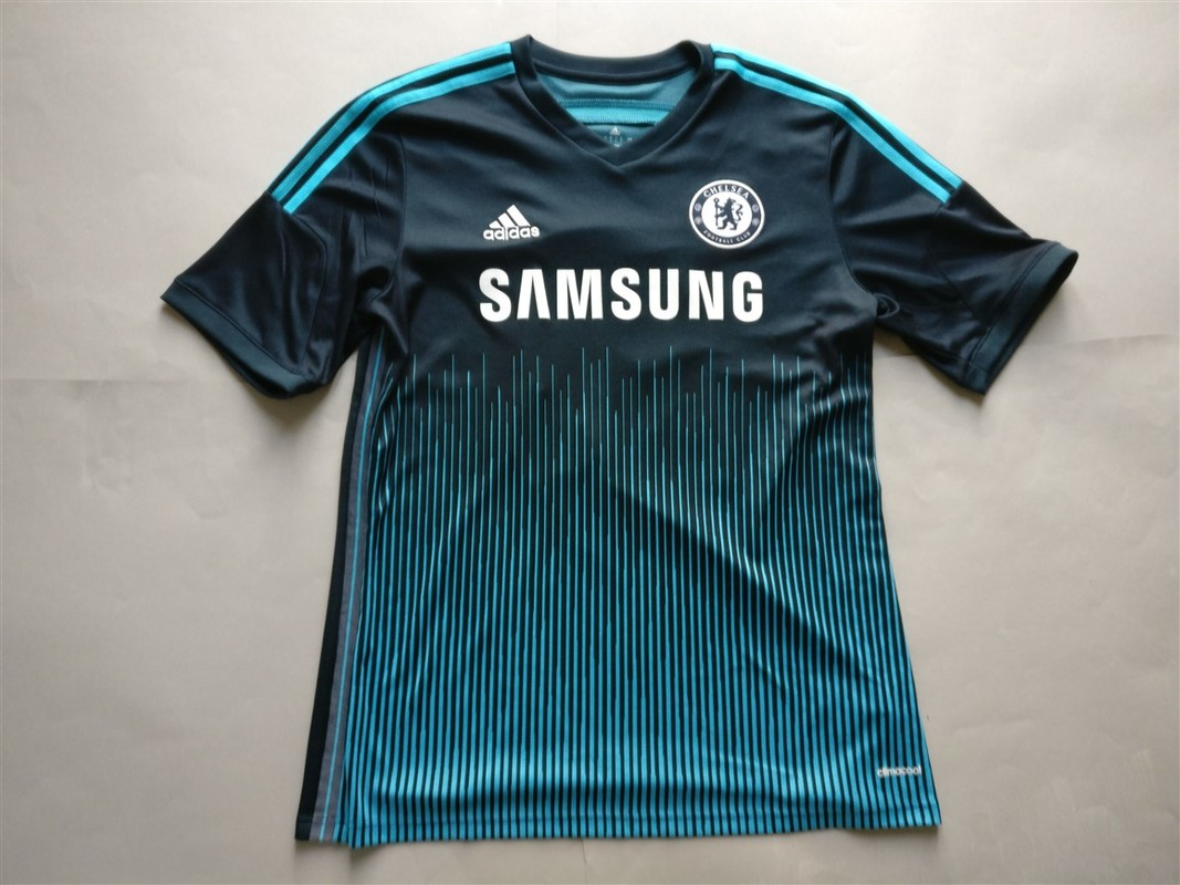 Chelsea F.C. Third 2014/2015 Football Shirt Manufactured By Adidas. The Shirt Is Sponsored By Samsung.
