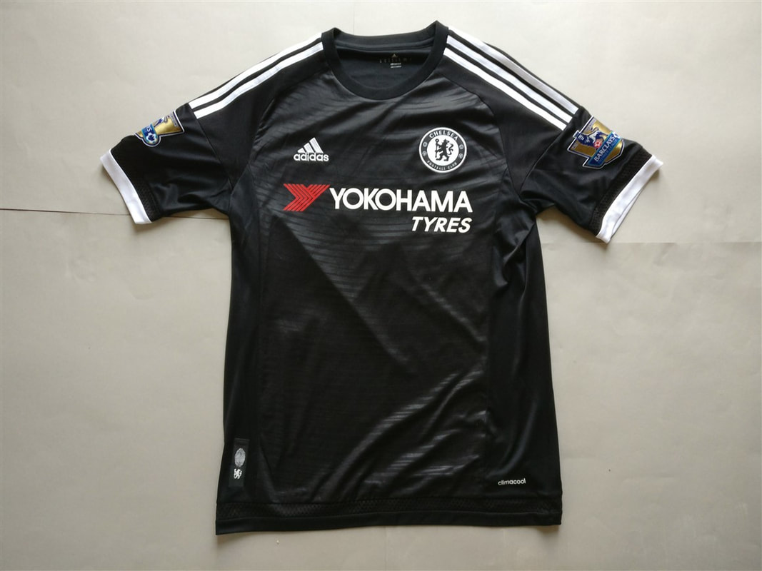 Chelsea F.C. Third 2015/2016 Shirt. Club Football Shirts.