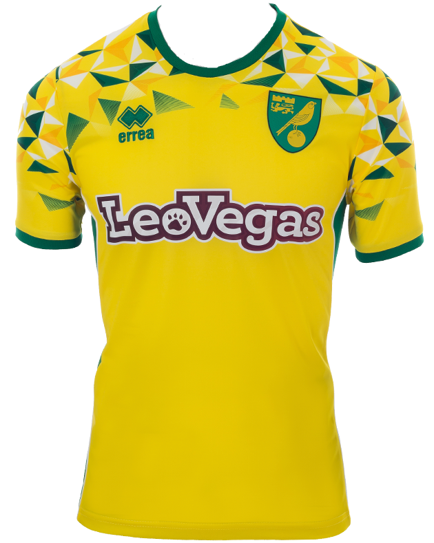 Norwich Home 2018/2019 Shirt.