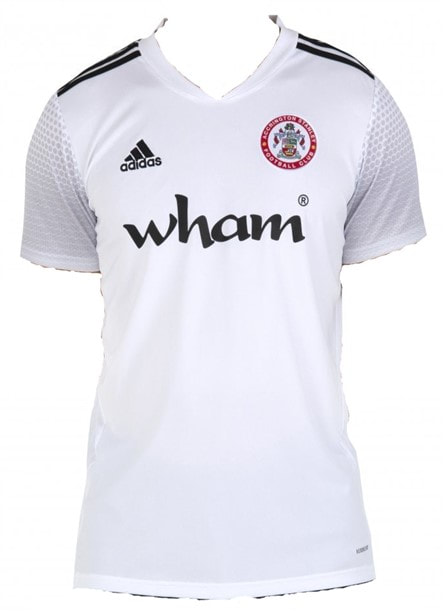Accrington Stanley Away 2020/2021 Football Shirt Manufactured By Adidas. The Club Plays Football In League One.