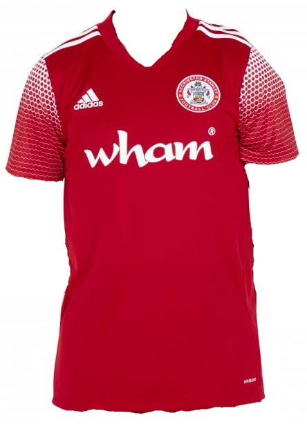 Accrington Stanley Home 2020/2021 Football Shirt Manufactured By Adidas. The Club Plays Football In League One.
