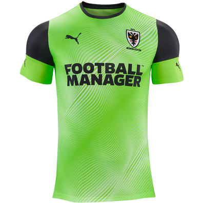 AFC Wimbledon Third 2020/2021 Football Shirt Manufactured By Puma. The Club Plays Football In League One.