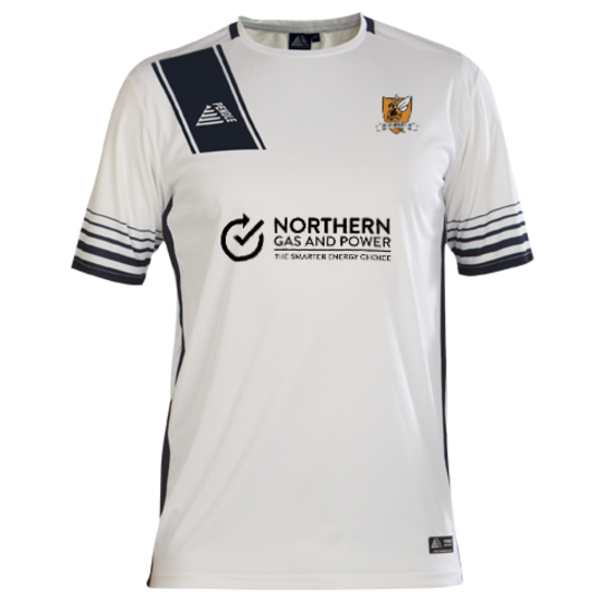 Alloa Athletic Away 2020/2021 Football Shirt Manufactured By Pendle. The Club Plays Football In Scotland.