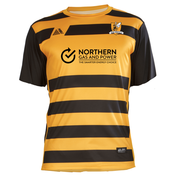 Alloa Athletic Home 2020/2021 Football Shirt Manufactured By Pendle. The Club Plays Football In Scotland.