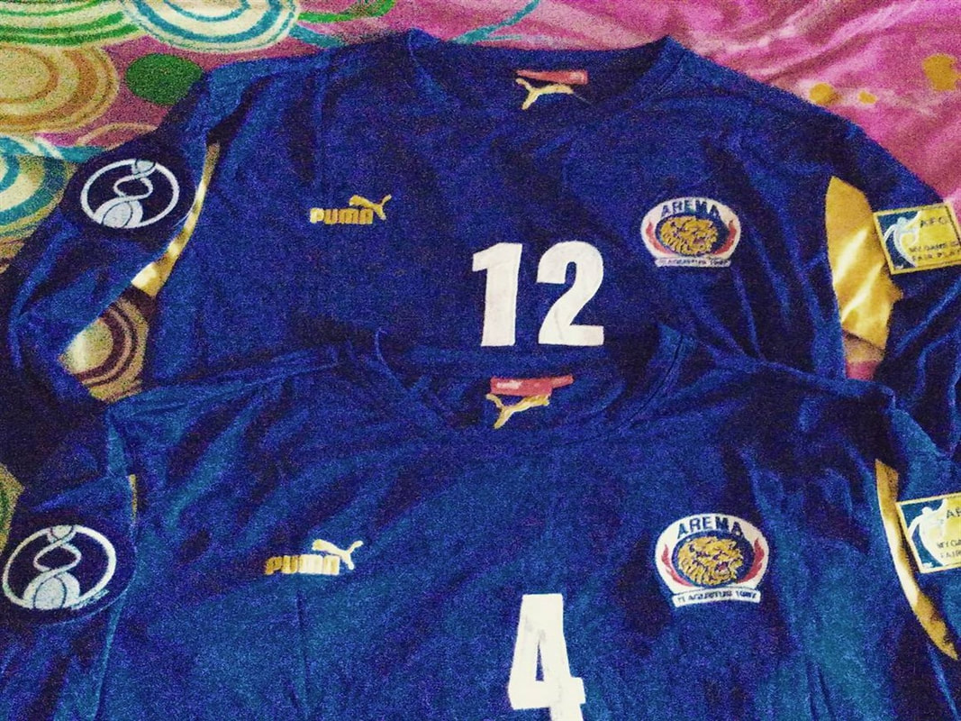 2007 Arema FC Asian Champions League Shirt