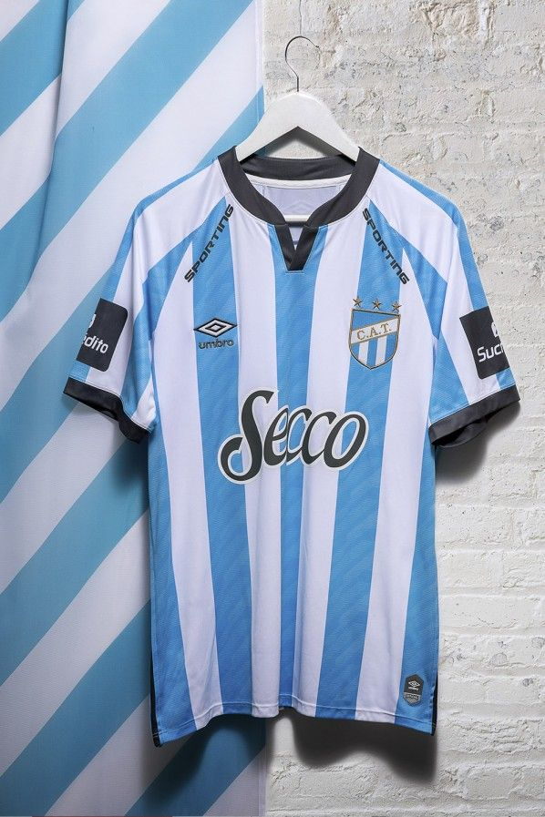 Atlético Tucumán Home 2020 Football Shirt. The shirt is manufactured by Umbro and the club plays in Argentina