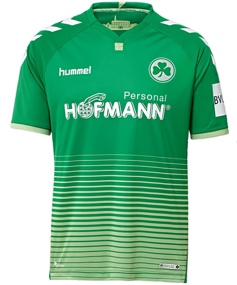 SpVgg Greuther Fürth Away 2018/2019 Shirt. Club Football Shirts.