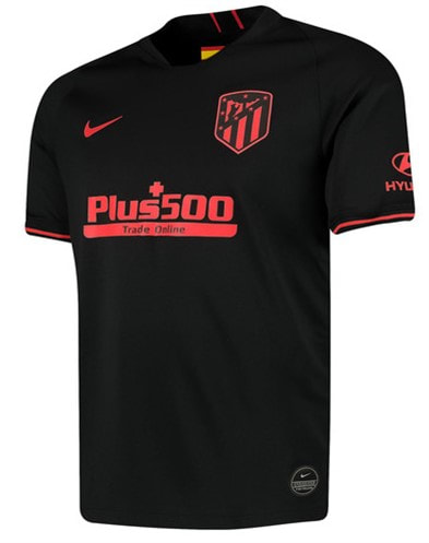 tlético Madrid Away 2019/2020 Shirt. Club Football Shirts.