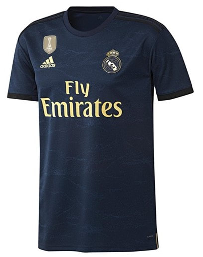 Real Madrid Away 2019/2020 Shirt. Club Football Shirts.
