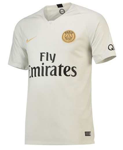 Paris Saint-Germain Away 2018/2019 Shirt. Club Football Shirts.