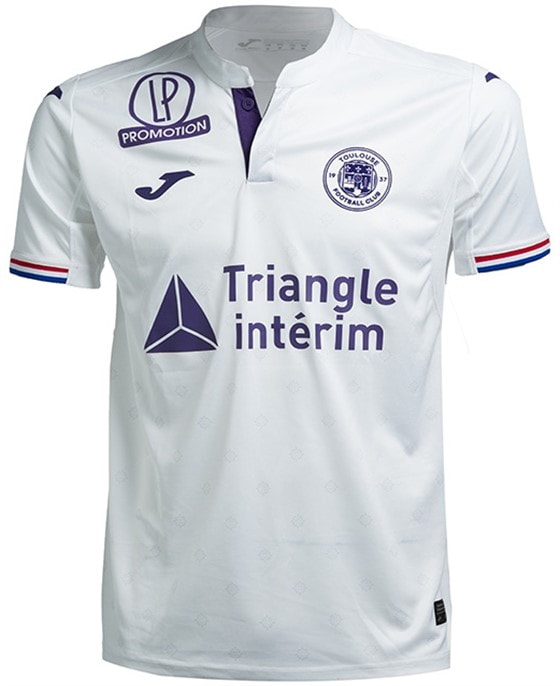 Toulouse Away 2018/2019 Shirt. Club Football Shirts.