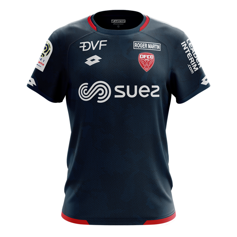 Dijon Away 2018/2019 Shirt. Club Football Shirts.