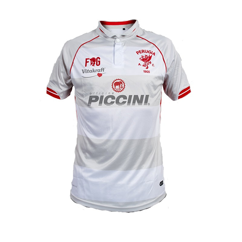 Perugia Away 2018/2019 Shirt. Club Football Shirts.