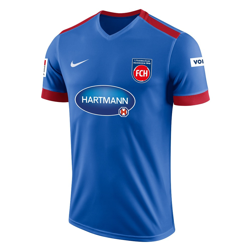 1. FC Heidenheim Away 2018/2019 Shirt. Club Football Shirts.