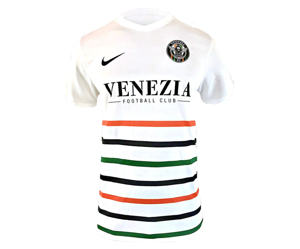 Venezia Away 2018/2019 Shirt. Club Football Shirts.