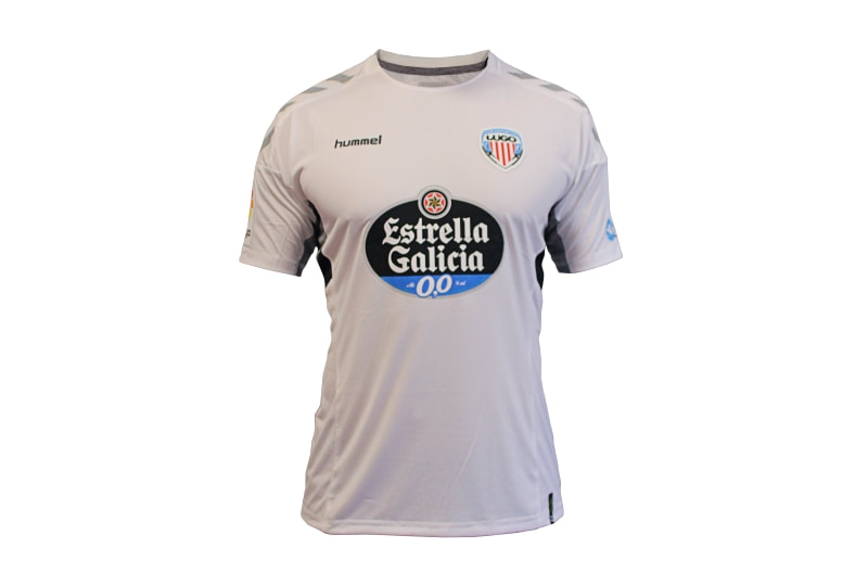 Lugo Away 2018/2019 Shirt. Club Football Shirts.