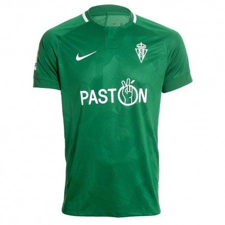 Sporting Gijón Away 2018/2019 Shirt. Club Football Shirts.