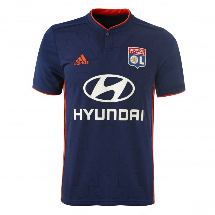 Lyon Away 2018/2019 Shirt. Club Football Shirts.