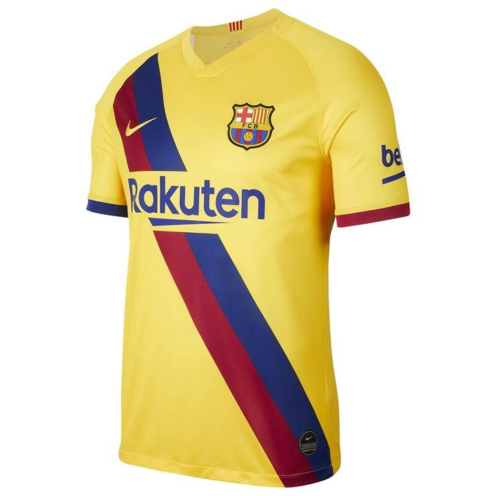 Barcelona Away 2019/2020 Shirt. Club Football Shirts.
