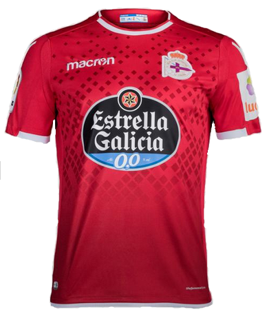 Deportivo La Coruña Away 2018/2019 Shirt. Club Football Shirts.