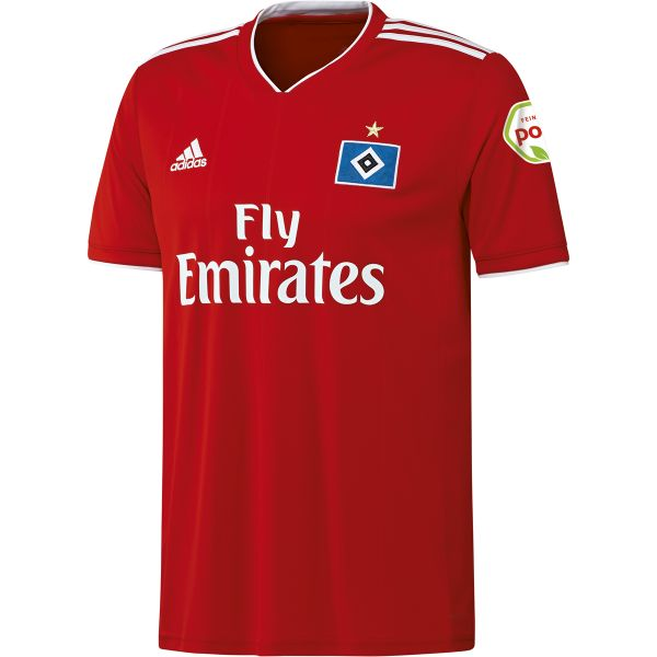 Hamburger SV Away 2018/2019 Shirt. Club Football Shirts.
