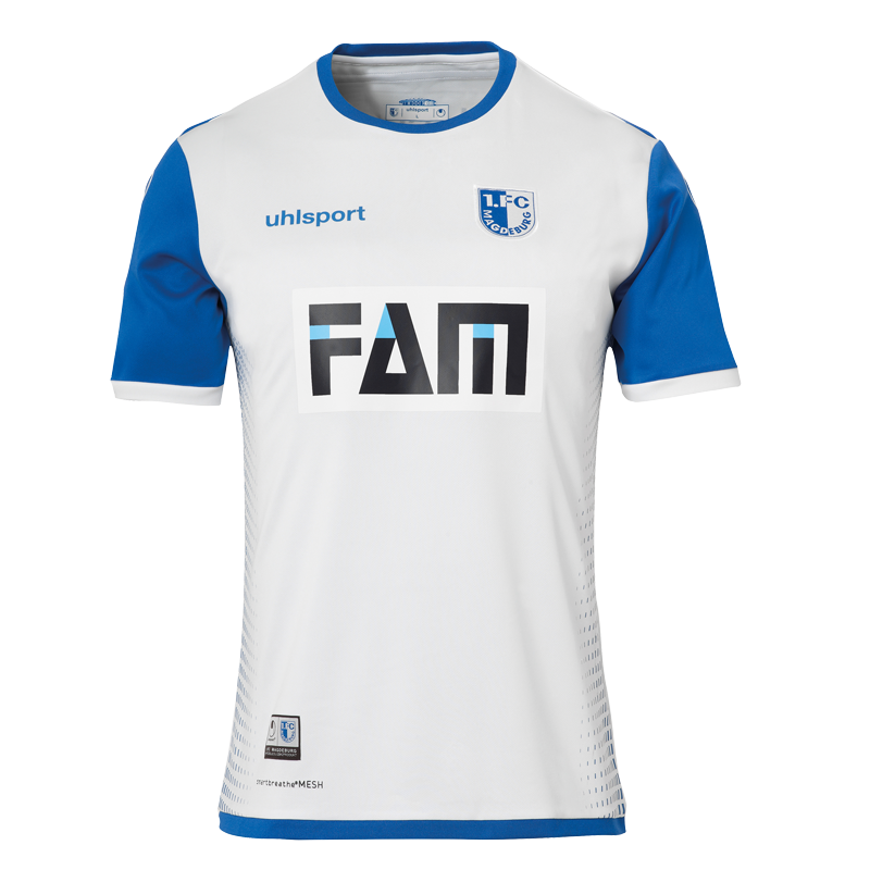 1. FC Magdeburg Away 2018/2019 Shirt. Club Football Shirts.