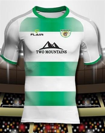 Baroka F.C. 2019/2020 Away Football Shirt Manufactured By Flair. The Club Plays Football In South Africa.