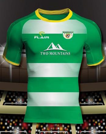 Baroka F.C. 2019/2020 Home Football Shirt Manufactured By Flair. The Club Plays Football In South Africa.
