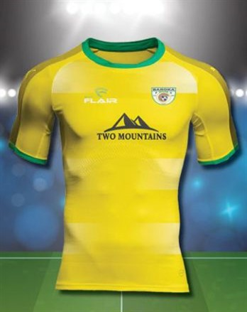Baroka F.C. 2019/2020 Third Football Shirt Manufactured By Flair. The Club Plays Football In South Africa.