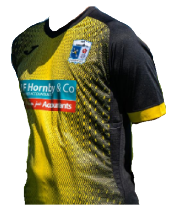 Barrow Away 2020/2021 Football Shirt Manufactured By Joma. The Club Plays Football In England.