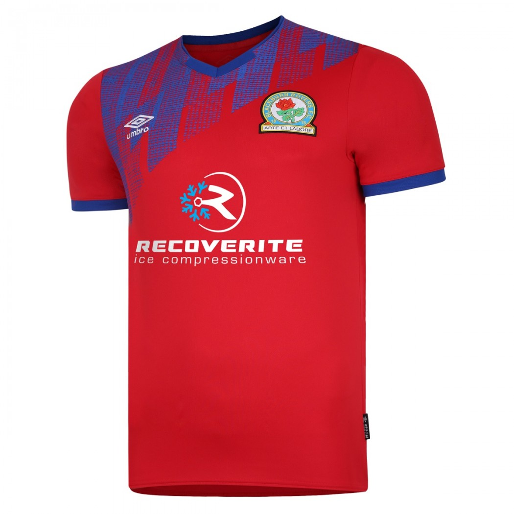 Blackburn Rovers Away 2020/2021 Football Shirt Manufactured By Umbro. The Club Plays Football In The Championship.