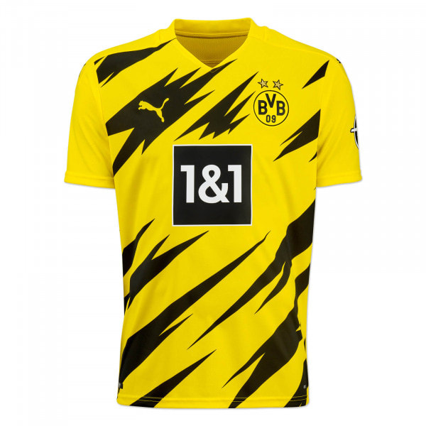 Borussia Dortmund Home 2020/2021 Football Shirt Manufactured By Puma. The Club Plays Football In Germany.