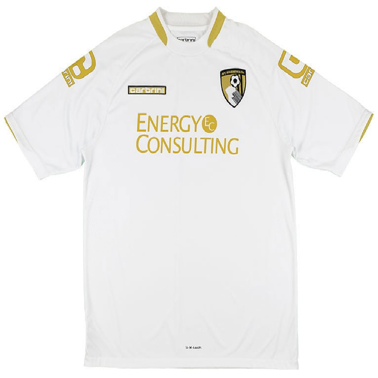 Bournemouth Away 2014/2015 Football Shirt Manufactured By Carbrini. The Club Plays Football In England.