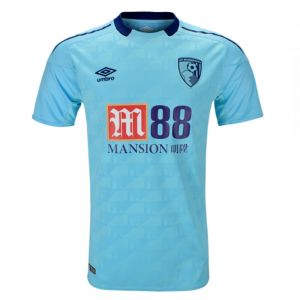 Bournemouth Away 2017/2018 Football Shirt Manufactured By Umbro. The Club Plays Football In England.