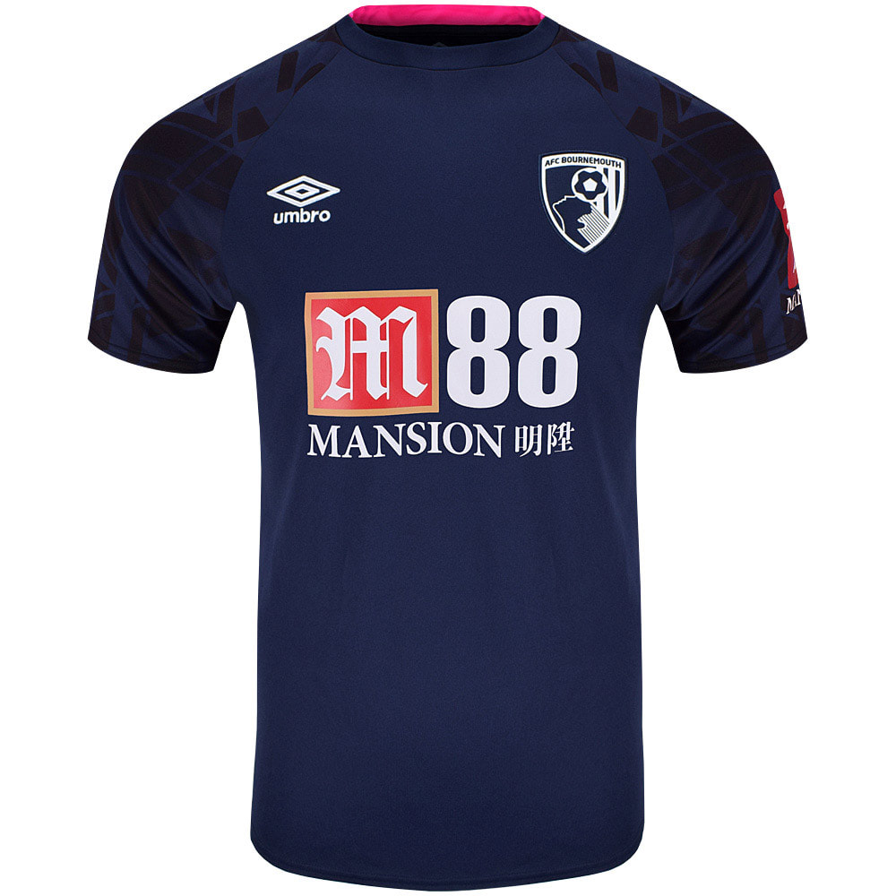 Bournemouth Away 2019/2020 Football Shirt Manufactured By Umbro. The Club Plays Football In England.