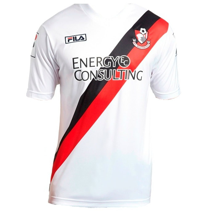Bournemouth Third 2013/2014 Football Shirt Manufactured By Fila. The Club Plays Football In England.