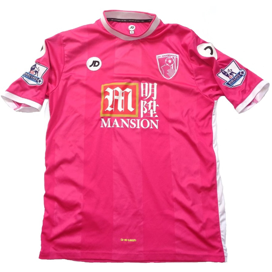 Bournemouth Third 2015/2016 Football Shirt Manufactured By JD Sports. The Club Plays Football In England.