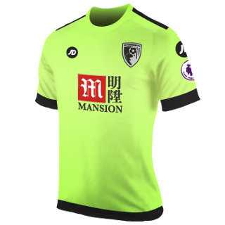Bournemouth Third 2016/2017 Football Shirt Manufactured By JD Sports. The Club Plays Football In England.