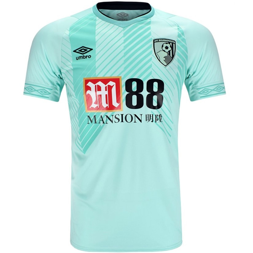 Bournemouth Third  2018/2019 Football Shirt Manufactured By Umbro. The Club Plays Football In England.
