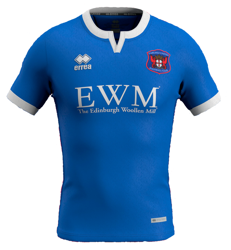 Carlisle United Home Football Shirt