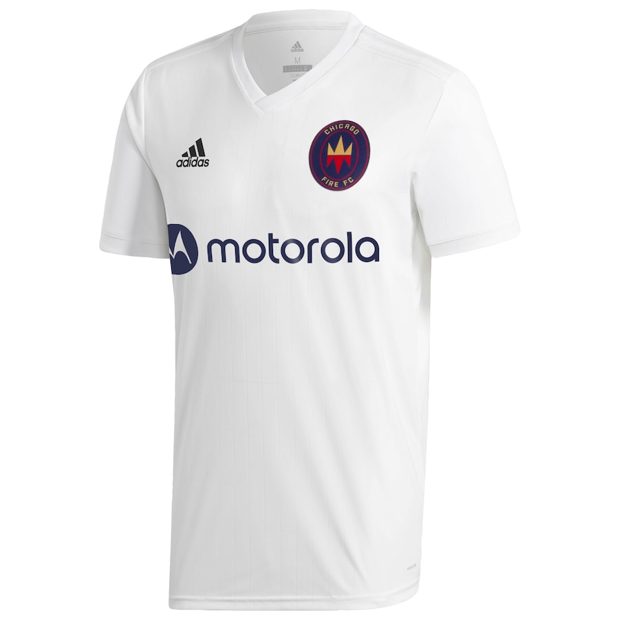 Chicago Fire FC Away 2020 Football Shirt. The shirt is manufactured by Adidas and the club plays in MLS.