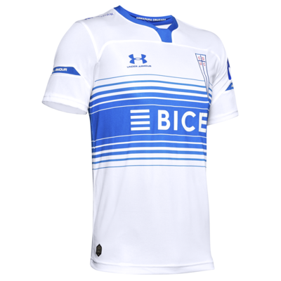 Club Deportivo Universidad Católica Home 2020 Football Shirt. The shirt is manufactured by Under Armour and the club plays in Chile.
