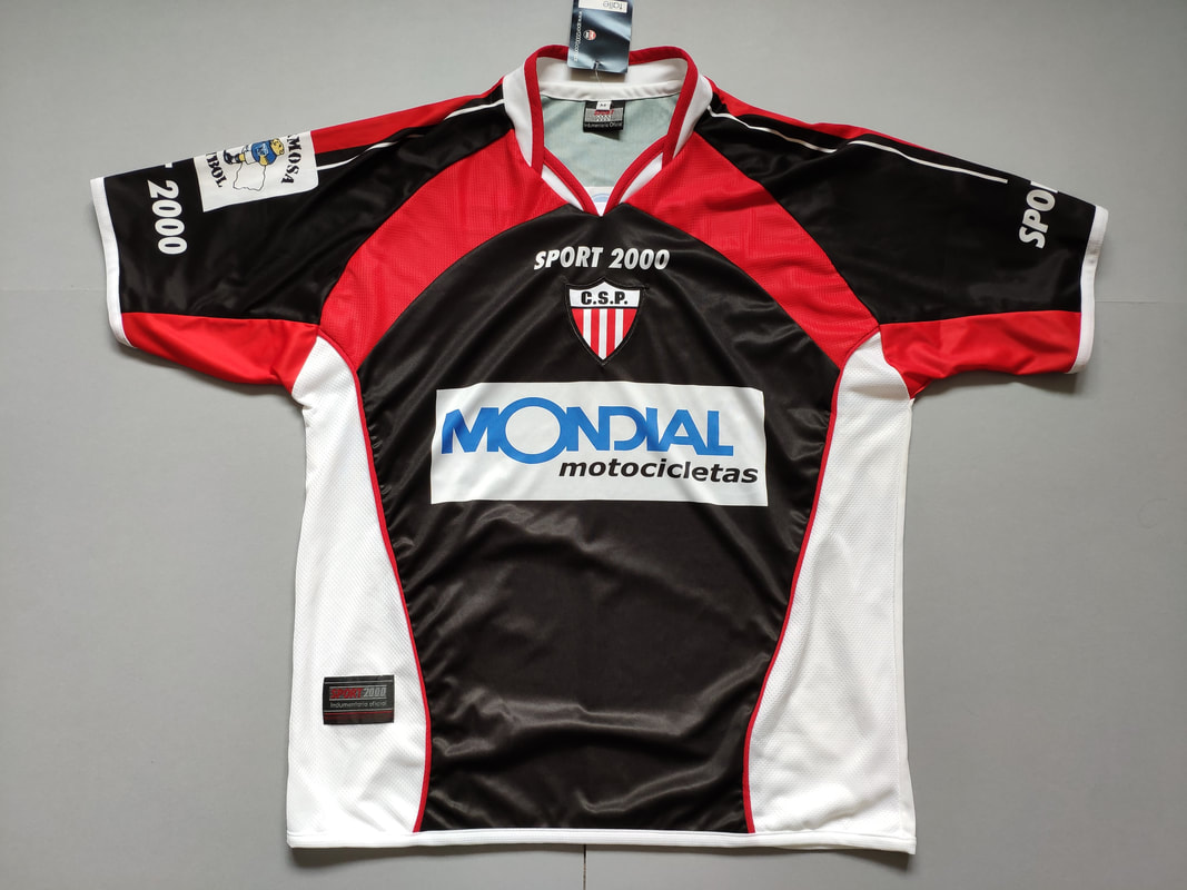 Club Sportivo Patria Home 2005/2006 Football Shirt Manufactured By Sport 2000. The Club Plays Football In Argentina.